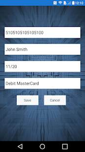 Contactless Credit Card Reader Screenshot