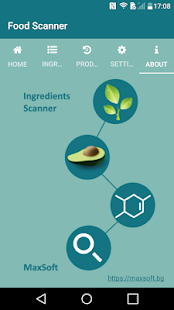 Food Ingredients, Additives & E Numbers Scanner Screenshot