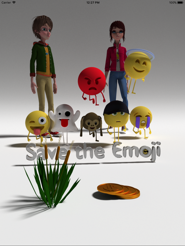 ‎Save the Emoji Screenshot