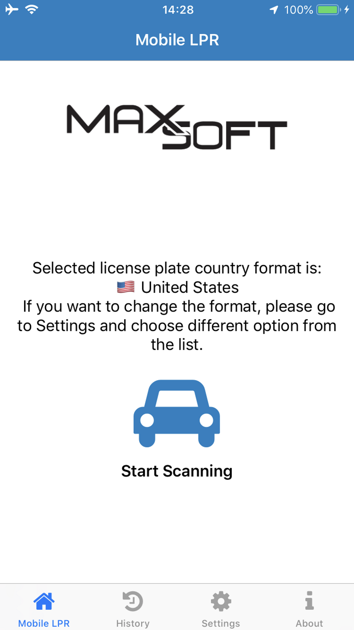 Mobile License Plate Recognition App for iOS and Android